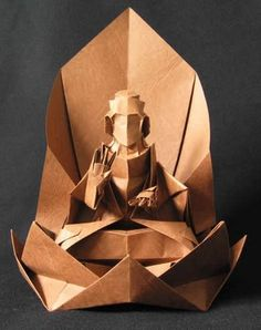 ~ Buddha paper art ~