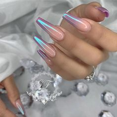 Nail art Christmas - the festive spirit on the nails. Over 70 creative ideas and tutorials - My Nails Aycrlic Nails, Dope Nails, Swag Nails, Fun Nails, Coffin Nails, Hair And Nails, Nagel Stamping, Dream Nails, Cute Acrylic Nails