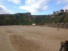 Tynemouth king Edwards bay beach 7 am 23 rd July 2015 www.tynemouthwebcam.com