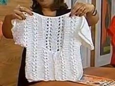 Receita de Tricô: Bolero em tricô - receita