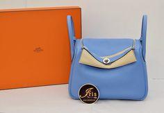 """กระเป๋า HermesLindy 26 Clemence inBlue ParadisePHW """"Stamp R"""" ของใหม่พร้อมส่ง‼️ - Iris Shop"""