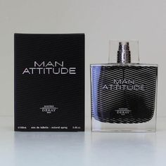 Deray Man Attitude Eau de Toilette Spray, 3.4 Ounce  http://www.themenperfume.com/deray-man-attitude-eau-de-toilette-spray-3-4-ounce-2/