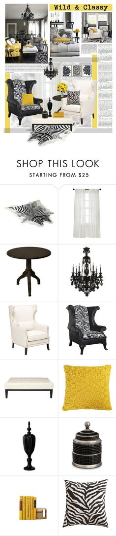"""Wild & Classy"" by hmb213 ❤ liked on Polyvore featuring HIDE, Nate Berkus, Nicki Minaj, Chanel, Schonbek, Bernhardt, Safavieh, CB2, Lazy Susan and L'Objet"