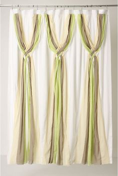 Knotted Vines Shower Curtain