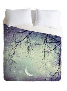 Sleeping Under the Stars Duvet Cover