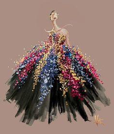40 волшебных fashion-иллюстраций от Katie Rodgers - Ярмарка Мастеров - ручная работа, handmade