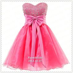 Hey, I found this really awesome Etsy listing at https://www.etsy.com/listing/167115513/pink-prom-dress-short-sweet-16-dress