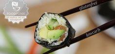 Rezept für Sushi-Liebhaber - mit Reis aus Blumenkohl - super lecker!