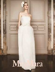 Max Mara Bridal Collection.