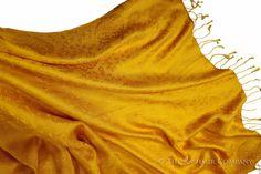 Dorothy's Yellow Brick Road Silk Scarf / Shawl
