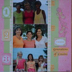 3 Generations of Cousins  www.ctmh.com/cindyanglindavis