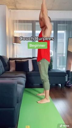 Gym Workout For Beginners, Fitness Workout For Women, Workout Videos, Easy Workouts, At Home Workouts, Burn Fat Build Muscle, Wall Workout, Work Out Routines Gym, Senior Fitness