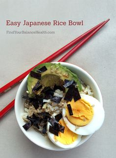 Put this into your rotation: Japanese Rice Bowl Recipe