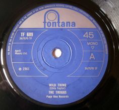 £3.99 or Make An Offer.    The Troggs - Wild Thing - Fontana TF 689 - Mono - UK 1966 1F/2F
