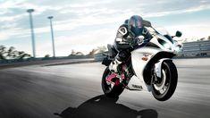 Yamaha R1 Race Sport Bike Wallpaper