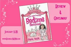 Rambles of a SAHM: God's Little Princess Bedtime Devotional by Sheila Walsh ~ A Book Review and Giveaway