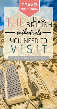England is known for it's beautiful cathedrals. With so many to choose from and so little time our handy guide lists the very best that you must add to your UK Itinerary. Day Trips Uk, Melbourne Travel, European Holidays, Uk Destinations, European Vacation, Short Trip, Cathedrals, So Little Time, Trip Planning