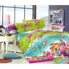 Zeleno modré detské posteľné obliečky s opičkami Comforters, Blanket, Bed, Home, Creature Comforts, Quilts, Stream Bed, Ad Home, Blankets