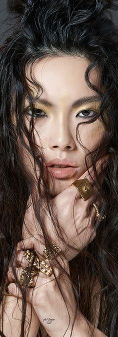 Beauty story by Anna Breda - www.itmakeup and hairstyle Alessio Giovannelli model: Chinchin from Milano She Was Beautiful, Most Beautiful, Beautiful Eyes, China Girl, Only Fashion, Women's Fashion, Beautiful Asian Women, Asian Art, Lady
