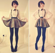 This pinafore skirt is amazingly good! http://lookbook.nu/look/3004059-My-blood-is-singing-with-your-voice-I-want-to-pour-it-out