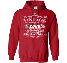 Vintage Made In 2000 T Shirt