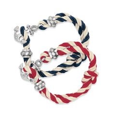 Brighton Coastal Twisted Rope Bracelet. Available at The Cedar Chest in Wimberley, TX 512-847-1100