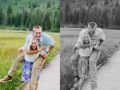 Kailey Rae Photography Utah Photographer Utah Engagement Photographer Silver Lake Mountain Engagement Pictures Big Cottonwood Canyon