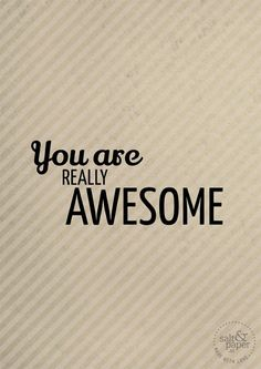 You are awesome - Thanks For Your Active and Precious Contribution on the boards.Tsahizn