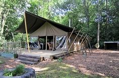 European glamping sites and info about glamping tents
