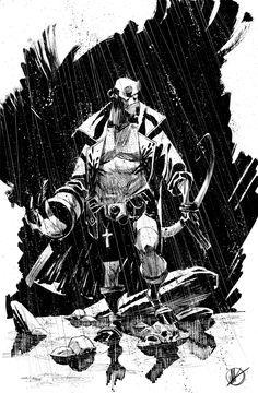 Hellboy by MatteoScalera.deviantart.com on @deviantART