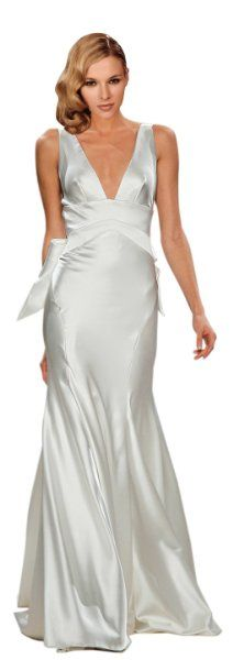 86 best Silk satin dresses images on Pinterest | Alon livne wedding ...
