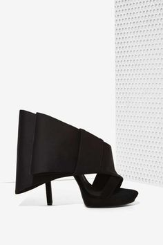 Jeffrey Campbell Tuxedo Bow Heel - Shoes