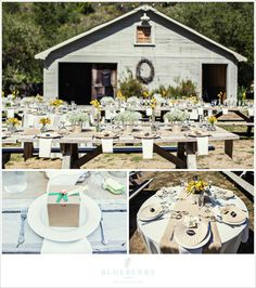 Obviously burlap table runners are something to consider.  Obviously.