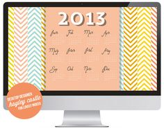 Free 2013 Desktop, iPad, and iPhone wallpapers designed by Hayley Castle on Lovely Indeed
