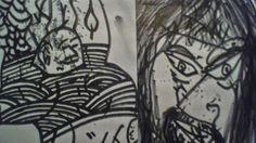 kimmo framelius: drawings