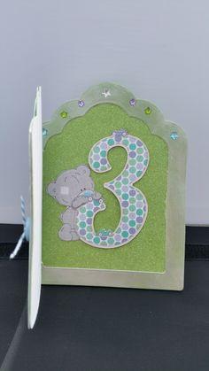 Birthday Card using gilding polish micro beads