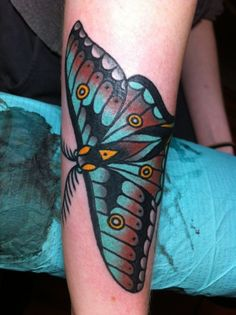 moth tattoo - Google Search
