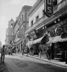 Calle San Francisco, San Juan, Puerto Rico , 1941