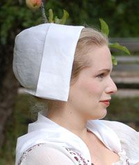 Pattern for cap Amish Hat, Bonnet Cap, Regency Gown, Staff Uniforms, 18th Century Costume, 18th Century Clothing, Frozen Costume, Edwardian Era, Historical Costume