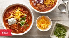 NEW Slow-Cooker Pulled Pork Chili