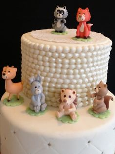 Forest Baby Animals, Woodland Cake Toppers, Woodland Cake Decorations For Baby Shower, Woodland Birthday Decorations, Woodland Baby Shower