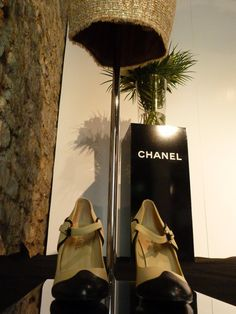 Chanel Chanel, Character Shoes, Dance Shoes, Fashion, Dancing Shoes, Moda, Fashion Styles, Fashion Illustrations, Fashion Models