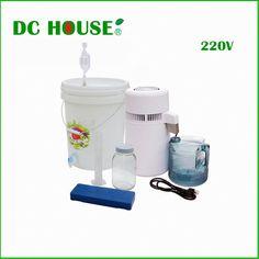 Olizee Pure Water Distiller All Stainless Steel Internal Purifier Filter 4 L