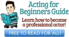 Acting for Beginners Guide is a free online book that will help actors looking for any kind of advice on how to start a successful acting career. Acting Lessons, Vocal Lessons, Acting Class, Acting Tips, Acting Skills, Acting Career, Act Training, Training Manager, Best Acting Schools