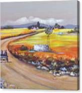 Farm Road Canvas Print Farm Cottage, South African Artists, Original Paintings, Instagram Images, Waves, Canvas Prints, Landscape, Wall Art, Artwork