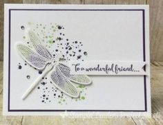 Project Sheets Friday Featuring Embossed Dragonfly Dreams