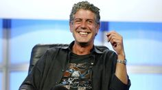 """ANTHONY BOURDAIN WANTS 'BIGGER AND BETTER' VERSION OF 'NO RESERVATIONS' AT CNN          Best line from Bourdain: """"I'm not gonna barbeque in The Situation Room with Wolf Blitzer and (talk) about the election results."""""""