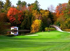 Golf Course at The Briars (Jackson's Point, Ontario) - ResortsandLodges.com #travel #vacation #destination