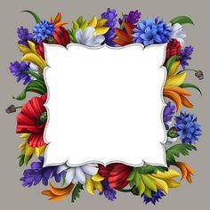 Picture of ornate flower frame illustration stock photo, images and stock photography. Borders For Paper, Borders And Frames, Frame Border Design, Framed Wallpaper, Frame Background, Paper Frames, Banner Printing, Flower Frame, Clipart