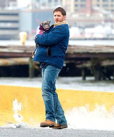 Tom Hardy + a puppy. Need we say more?